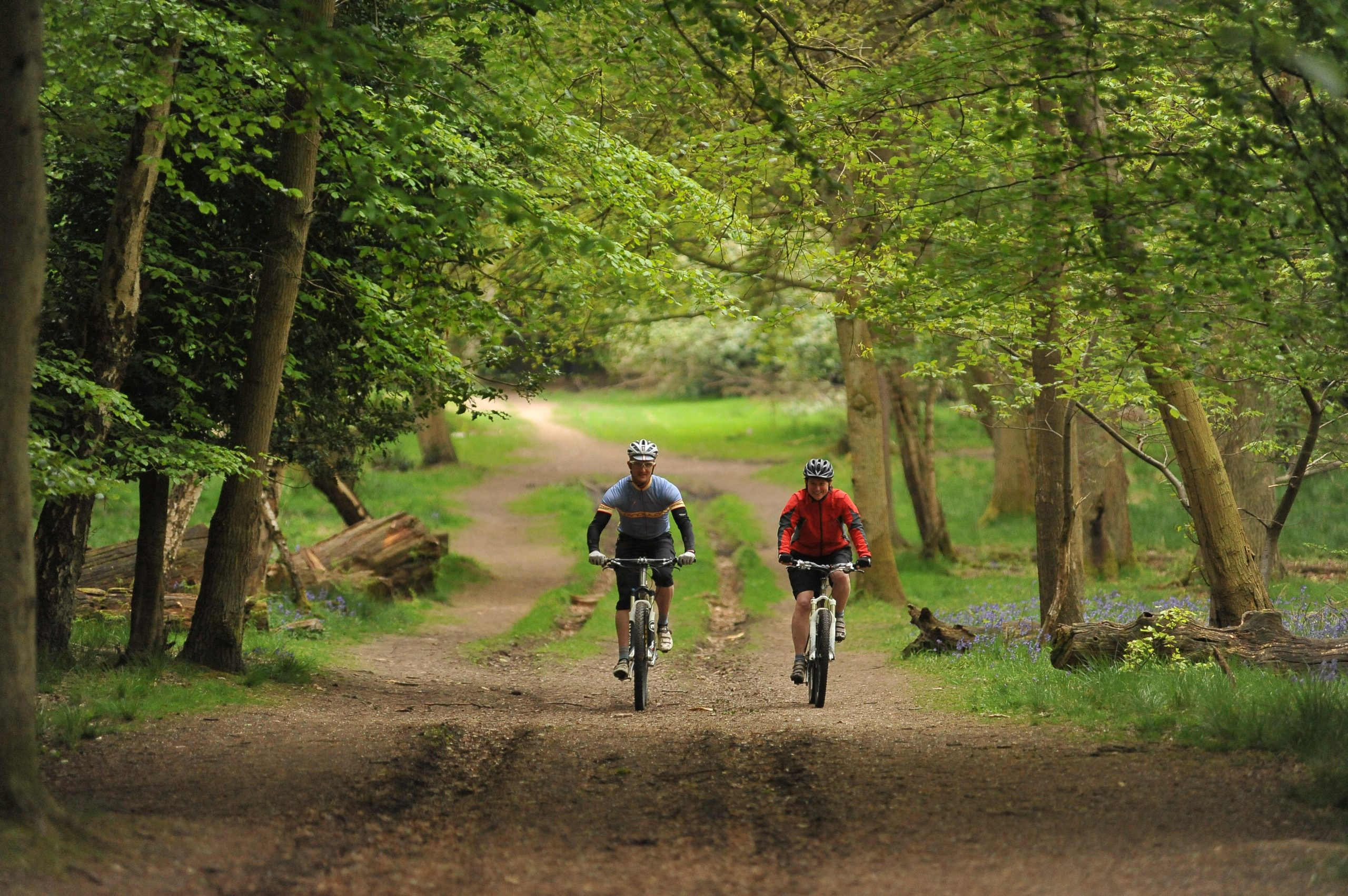 cycle route around otterpool park